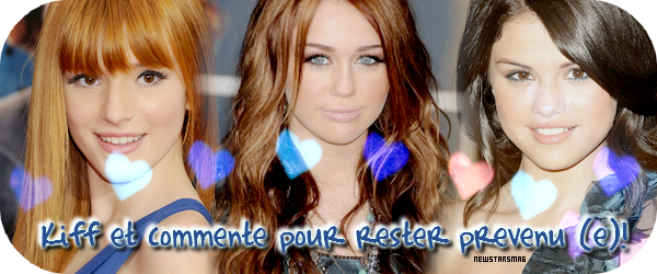 Miley cyrus. :)