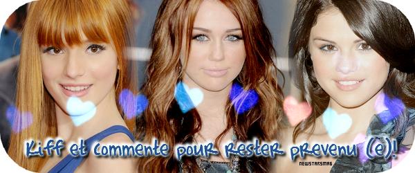 • Selena Miley Bella et Zendaya petite