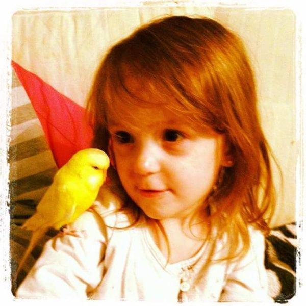 Ma fille , un bon moment avec pop