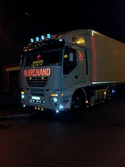 mon camion la nuit