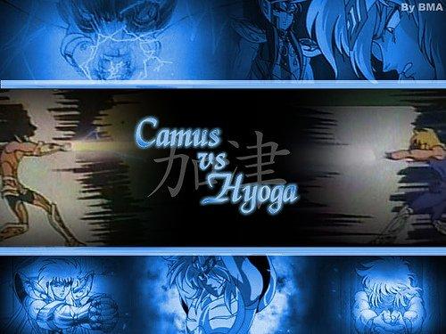 Camus vs Hyoga