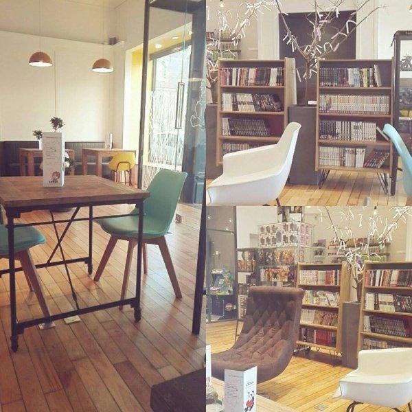 L'Otaku, salon de thé bio à Lille - Merci de remixer cette publication en échange éventuellement de (?) ! ღ