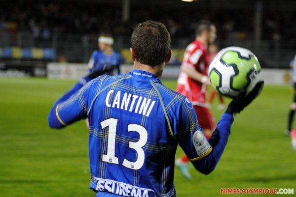 Maillot  Portè saison 2012-2013  SEBASTIEN CANTINI