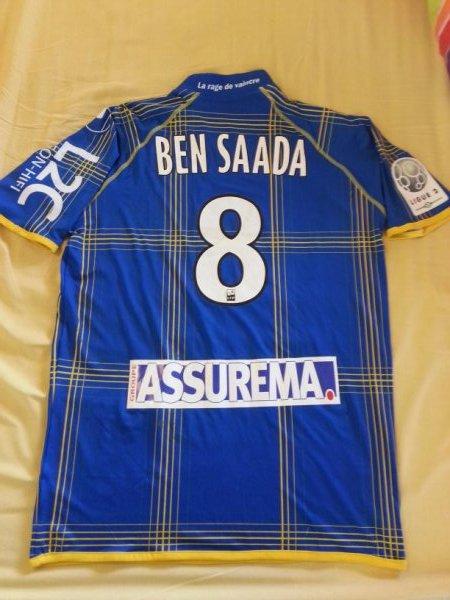 Maillot saison 2012-2013 BEN SAADA