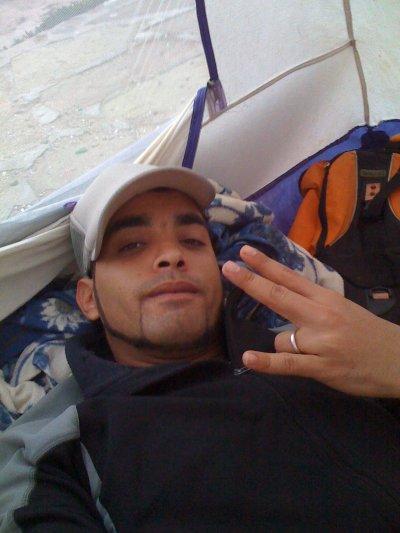 Dans ma tente