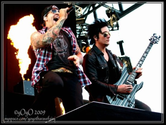 M.Shadows & Synyster