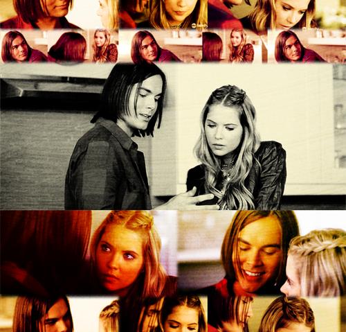 Hanna et Caleb.