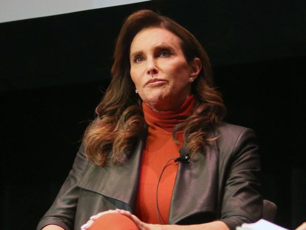 'Oi, Bruce, get your d*** out': Caitlyn Jenner 'suffers vile transphobic abuse' as she leaves an LGBT awards present in London