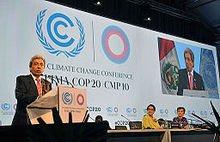 1er décembre 2014 - Conference of the parties COP20