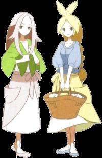 Pokemon Gris Présentation personnages secondaires