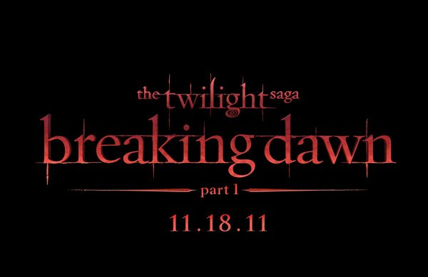 "Révélation du LOGO officiel ""The TWILIGHT Saga: Breaking dawn part 1"""