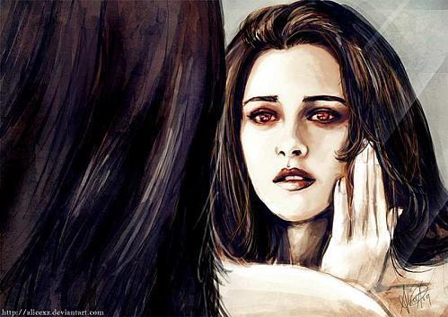Stephenie meyer parle de Kristen Stewart en vampire