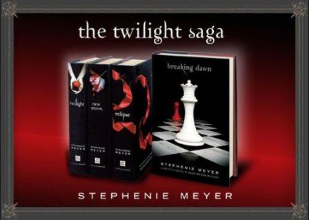 La Saga Crépusculaire (4 TOMES) de Stephenie Meyer