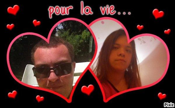 Toi et moi pour la vie mon ange