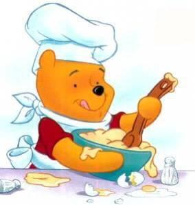 Winnie Qui Fait La Cuisine Pour Ma Tite Crevette