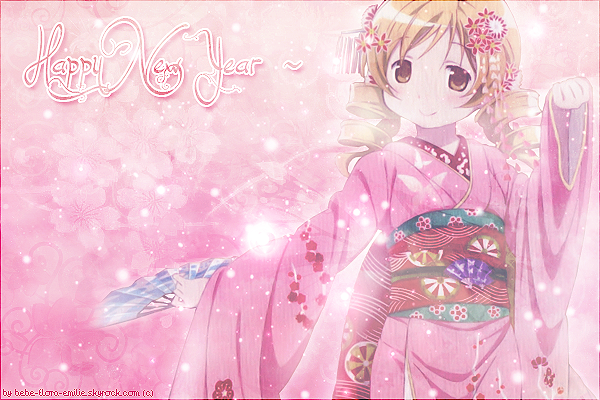 Happy New Year ~ ❀