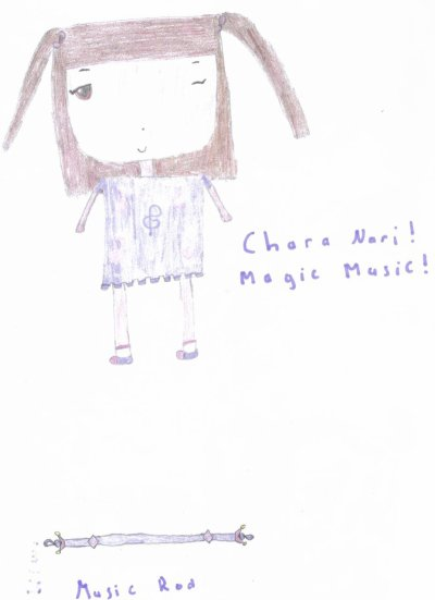 Chapitre 8 : Chara Nari ! Magic Music !