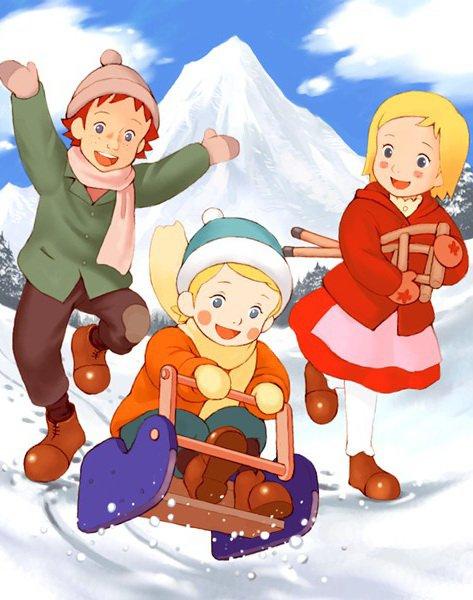 Dans les Alpes avec Annette (アルプス物語 わたしのアンネット)