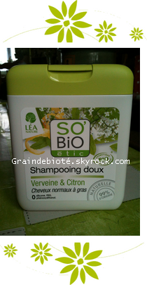 -_  ✿• Shampoing bio pour cheveux gras •✿   -_