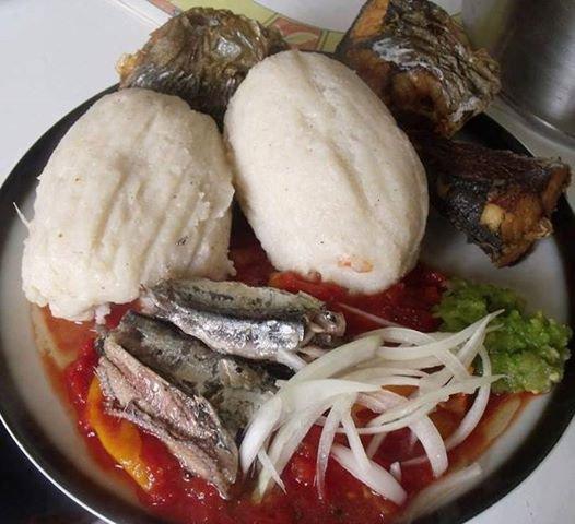 Nourriture de chez moi le Togo