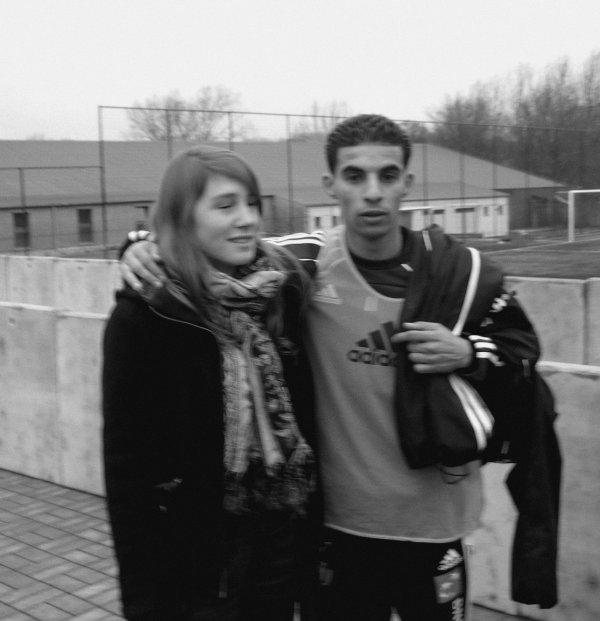 Mbark Boussoufa & moi