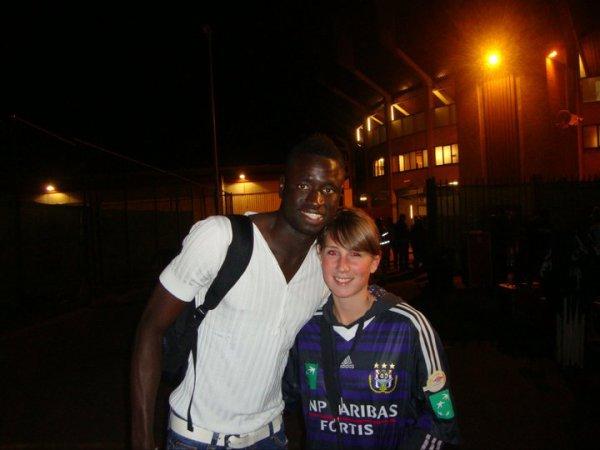 Cheikhou Kouyaté & moi