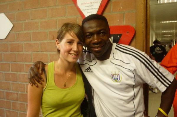 Charles Musonda & moi :)