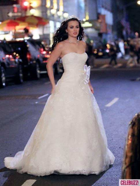 La gossip Blair en mariée!