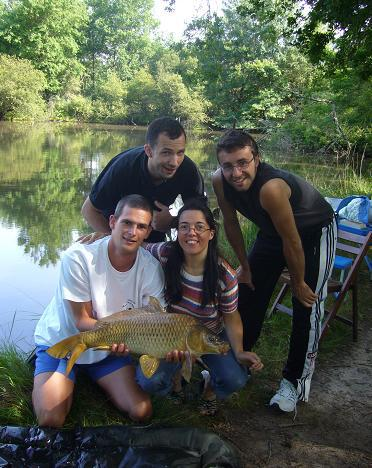 Après-midi pêche entre amis
