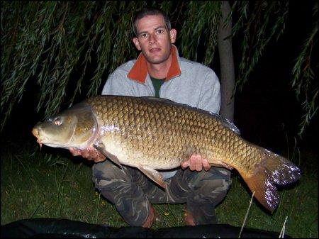 Première pêche en grand lac