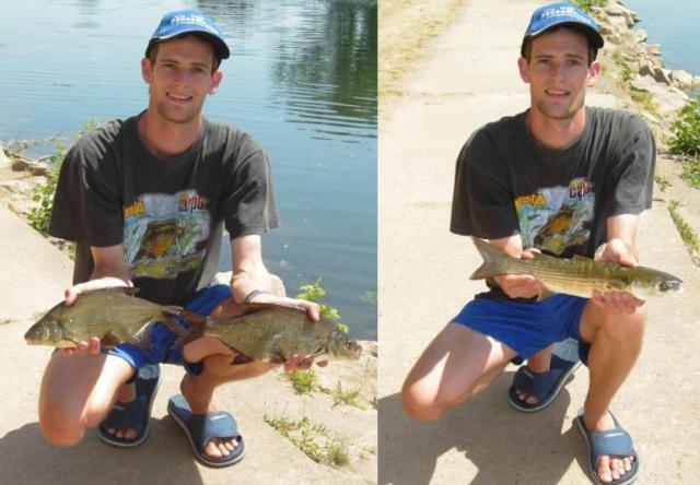 Ma première pêche au flotteur plat
