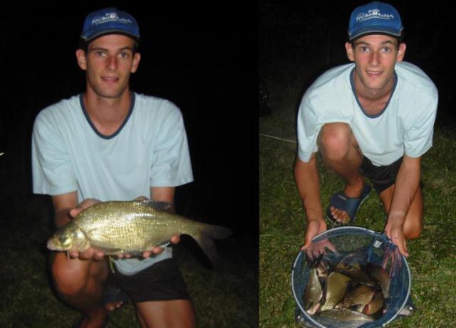 Ma première pêche au feeder