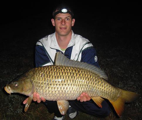 Première pêche de nuit 2007 en rivière
