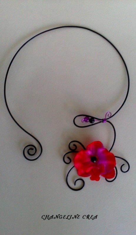 Collier orchidée en vente ici : http://www.alittlemarket.com/collier/collier_romantique_orchidee_-4778947.html