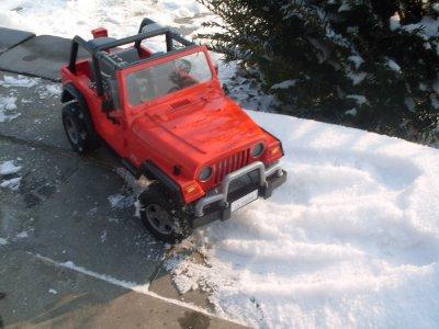 dans la neige (suite).....
