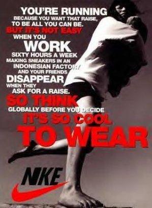 """Nike explora o Terceiro Mundo"""