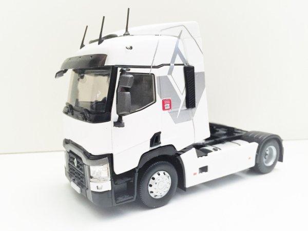 """Eligor Renault T 460 Tracteur Blanc Losange """"Maison"""""""