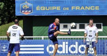 Zidane A rejoints Barthez et Blanc