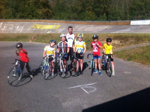 Rentrée de l'école de cyclisme au guidon fuxéen