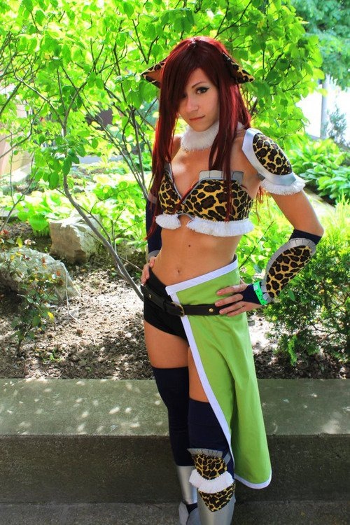 Cosplay de Fairy Tail
