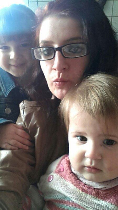 Moi et mes deux bébé