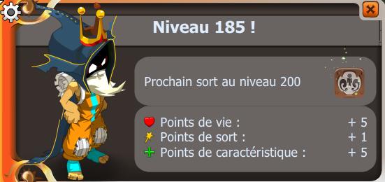 Up 185 ! :D