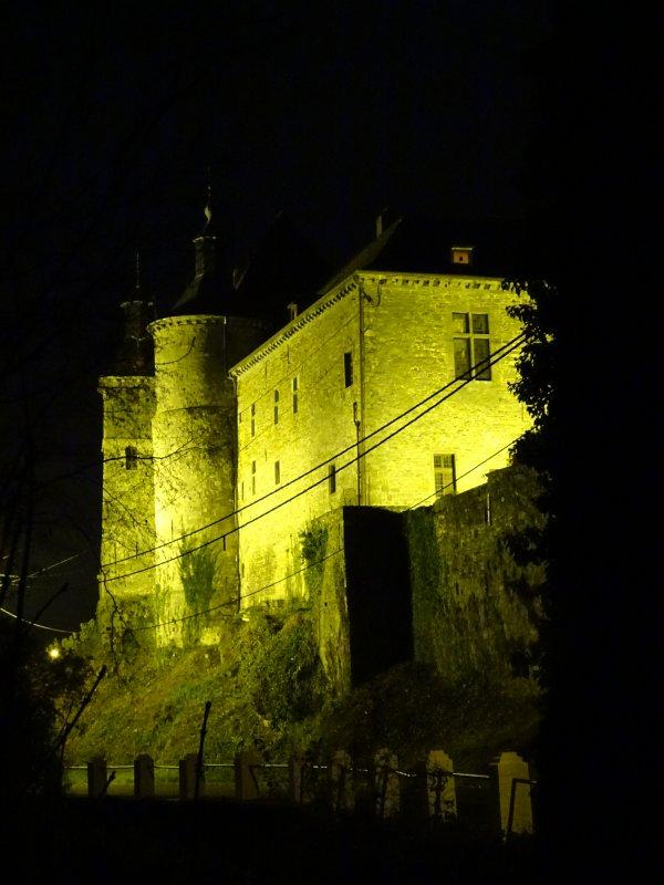 Château de Ecaussinnes Décembre 2017.