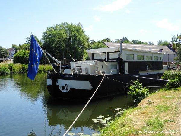 Vieux canal de Ronquière 2020