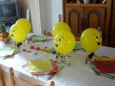 La déco de table : Smiley !!   Blog de