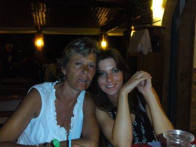 moi et bel maman