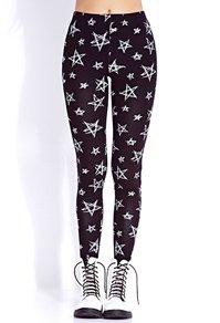 c'est Pantalon moulant avec des étoile blanche