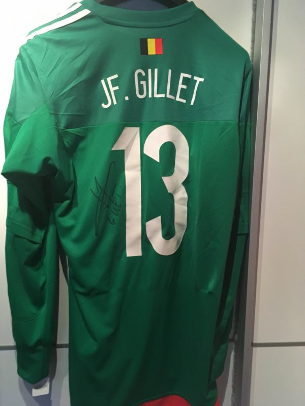 JF Gillet euro qualification