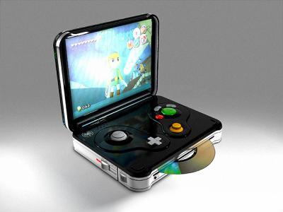 Une GameCube portable!