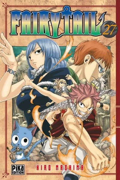 Fairy Tail: Sortie du Tome 27